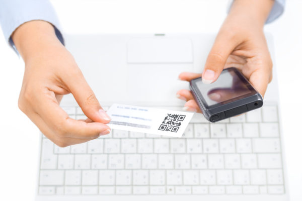 Die wichtigsten Informationen an einem Ort - Visitenkarten mit QR-Code