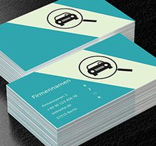 Motorisierung Projekte Visitenkarten Netprints