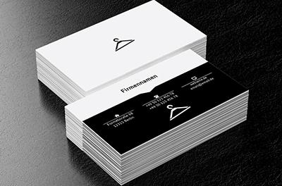 In Der Welt Der Mode Bekleidung Visitenkarten Netprints