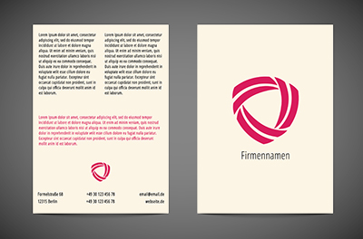 In einem bunten Marmor, Motive, universelle - Flyer Netprint