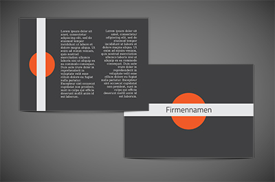 Wenn du sagst - Orange, Motive, universelle - Flyer Netprint