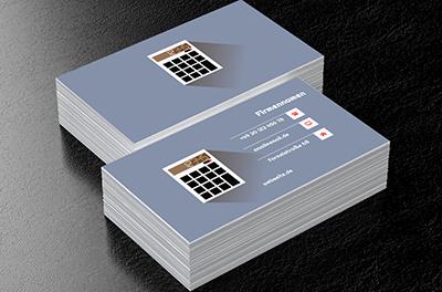 Rechner Auf Einem Blauen Hintergrund Buchhaltung