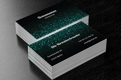 Fortuna Rollt Abstraktion Visitenkarten Netprints