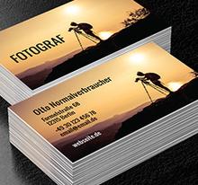 Foto Dienstleistungen Fotografie Projekte Visitenkarten