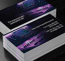 Visitenkarten Flyer Banner Poster Fertige Designs Und