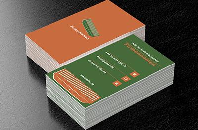 Pflege Der Haare Friseursalon Visitenkarten Netprints