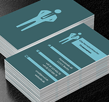 Anwalt Recht Projekte Visitenkarten Netprints