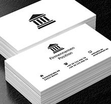 Rechtsanwaltskanzlei Recht Projekte Visitenkarten